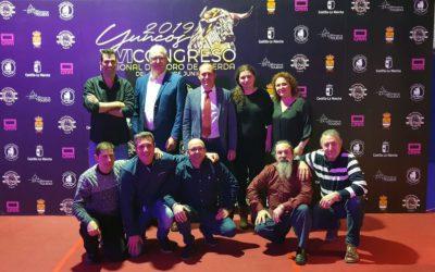 La Peña del Torico asiste a la Gala de la Federación Española de Toro con Cuerda