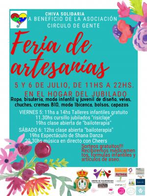 Feria Artesanía Chiva