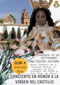 Concierto en Honor a la Virgen del Castillo