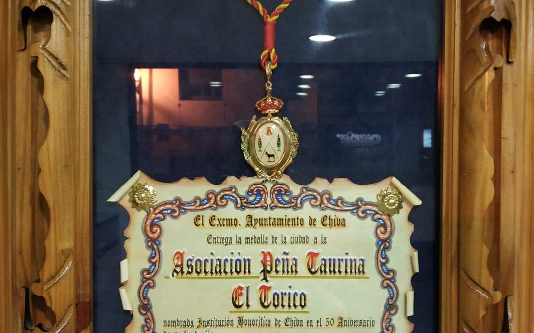 Cinco años de la Peña como Institución honorífica