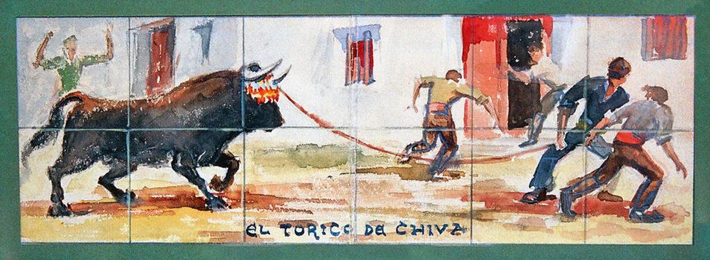 Boceto del panel de Toriles