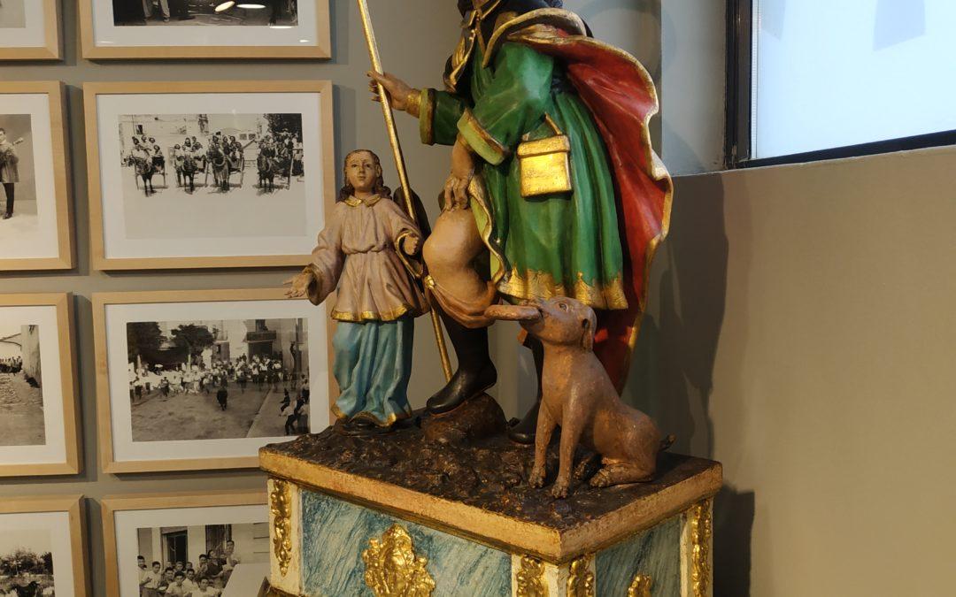 Imagen procesional de San Roque. Siglo XVII