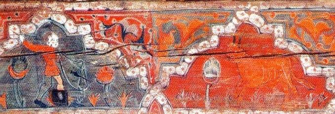 Pintura monasterio Silos