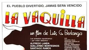 Cartel de La Vaquilla.