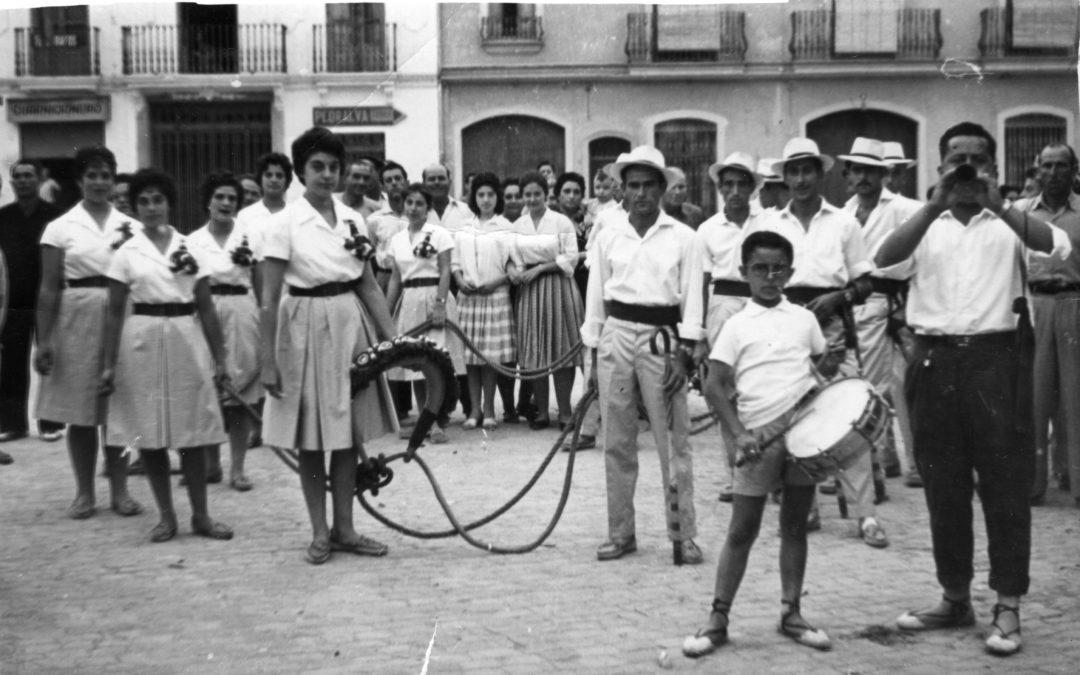 Clavarios. Archivo Perales.