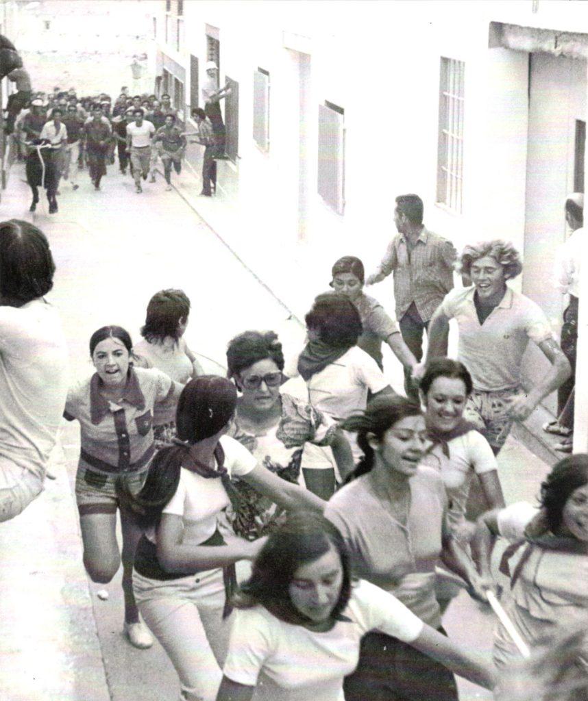 El Toro de las mujeres. Archivo Manuel Mora Yuste.