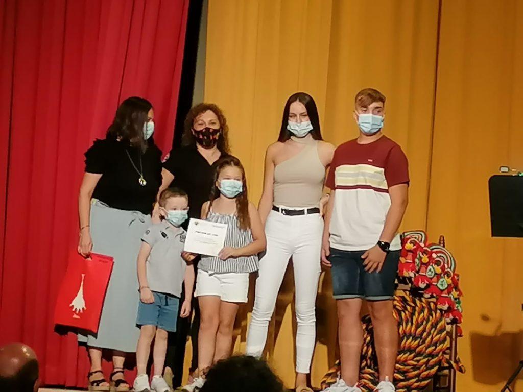 Entrega de premios en el acto del Día 13.