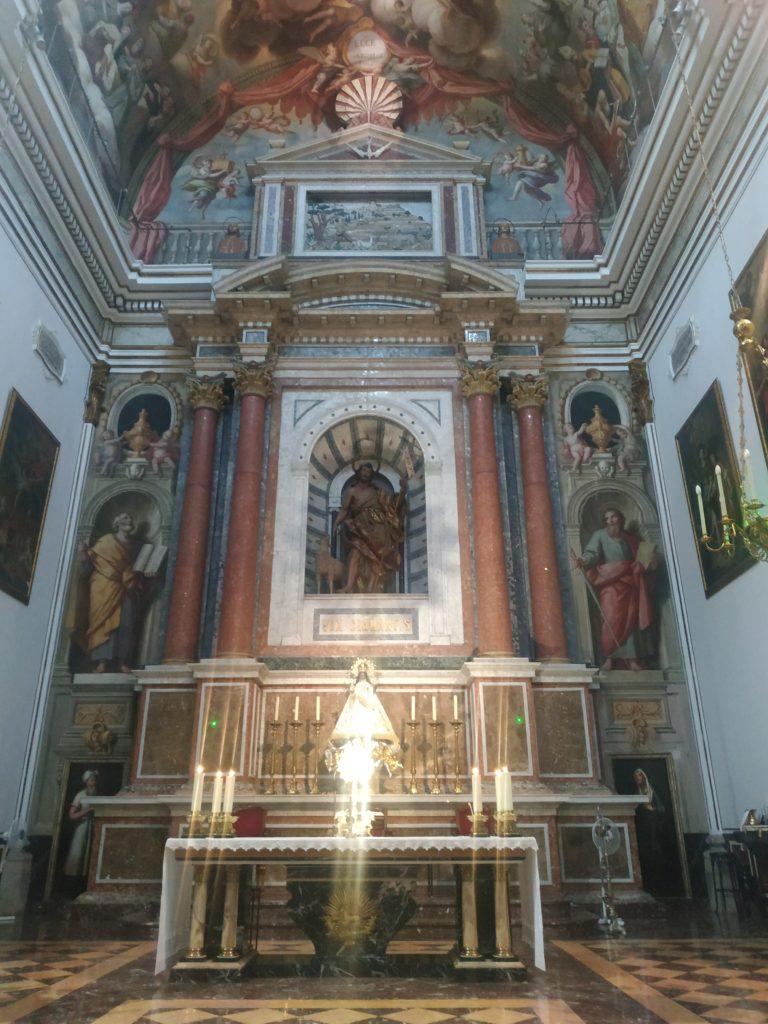 Retablo del Altar Mayor.