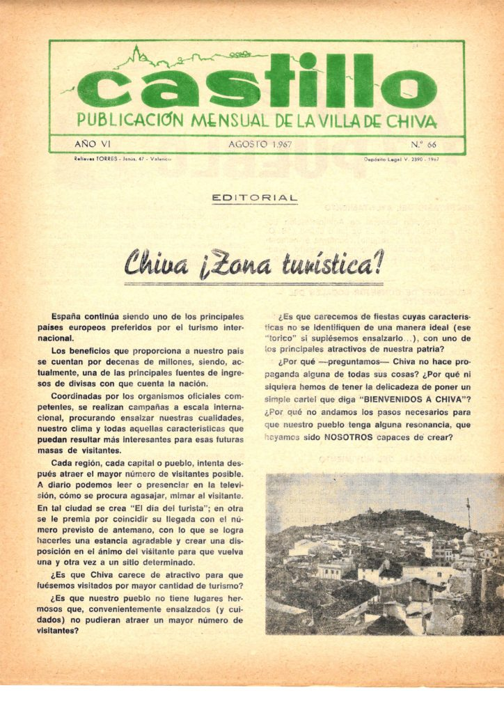 "Publicación ""Castillo"", nº 66."